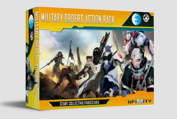 Infinity (#870): Military Orders Action Pack