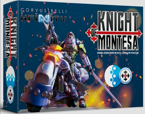 Infinity/CodeOne/Aristeia!: Knight of Montesa Pre-order Pack