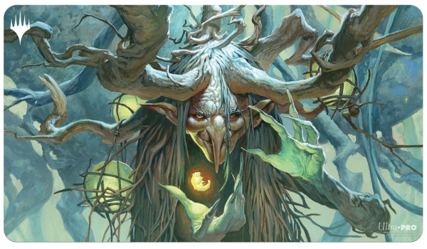 Magic: C21 Playmat - Willowdusk, Essence Seer featuring Witherbloom