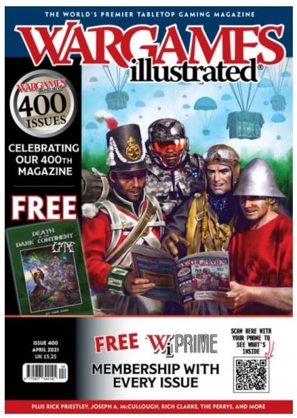 Wargames Illustrated Magazine #400 (April 2021)
