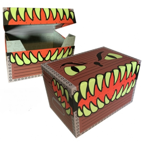 Creature Curation: Empty Mimic Box (Brown)