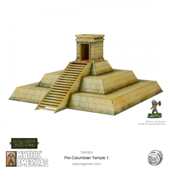 Warlords of Erehwon: Mythic Americas - Pre-Columbian Temple #1