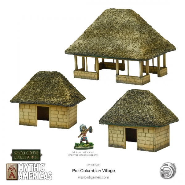 Warlords of Erehwon: Mythic Americas - Pre-Columbian Village