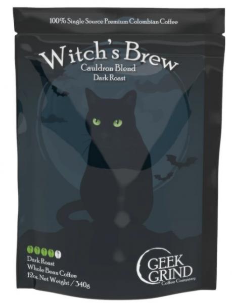 Geek Grind Coffee: Witch's Brew - Cauldron Blend (Limited Edition)