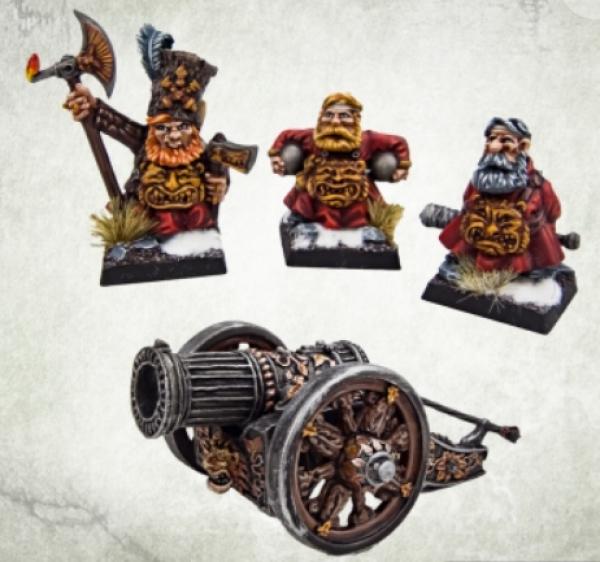 Kromlech Miniatures: Hospodars Cannon with Crew