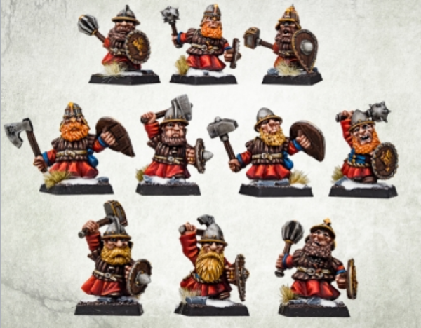 Kromlech Miniatures: Hospodars Warriors