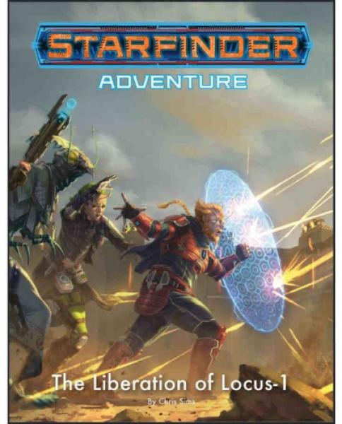 Starfinder RPG: (Adventure) The Liberation of Locus-1