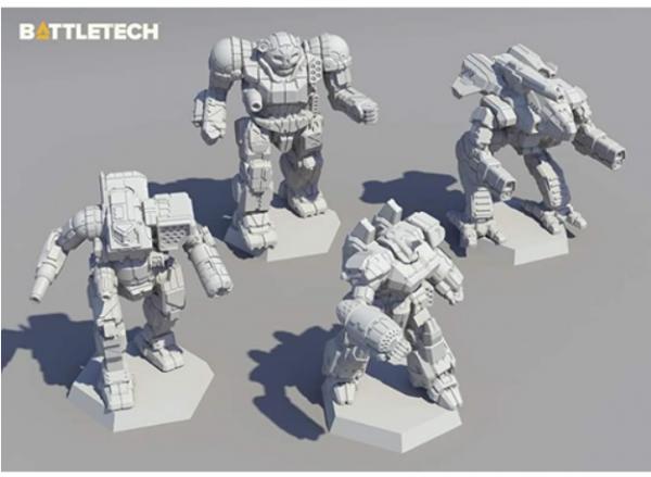 BattleTech: Miniature Force Pack - Inner Sphere Direct Fire Lance