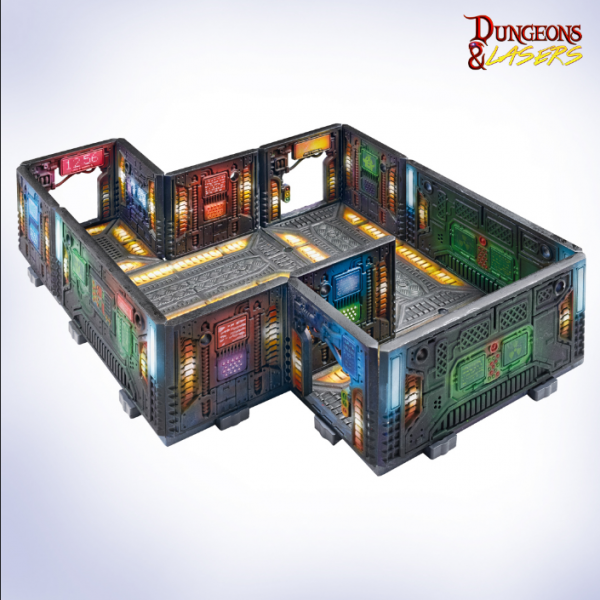Dungeons & Lasers: Miniature Terrain AI Center