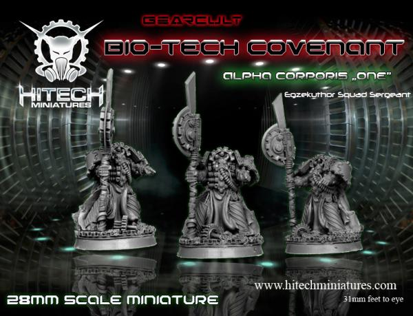 WarHell: (Bio-Tech Covenant) Alpha Corporis One, Gearcult Egzekuthor Squad Leader/Sergeant