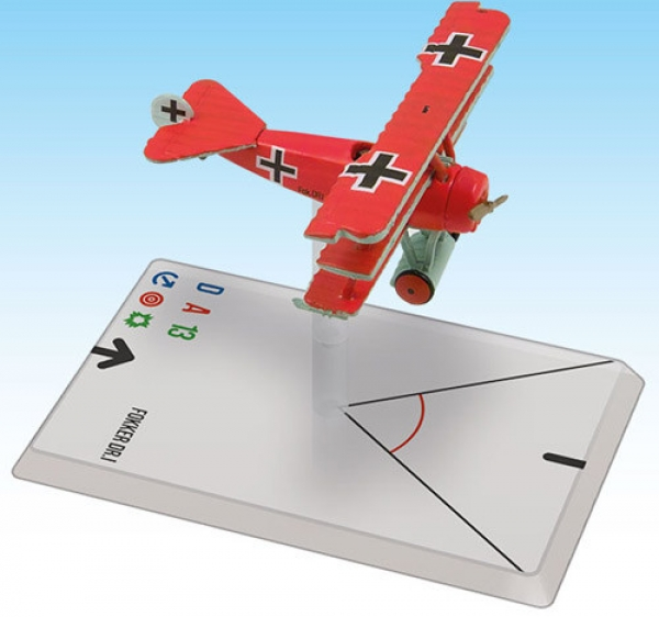 Wings Of Glory WWI Miniatures: Fokker Dr.I (von Richthofen)