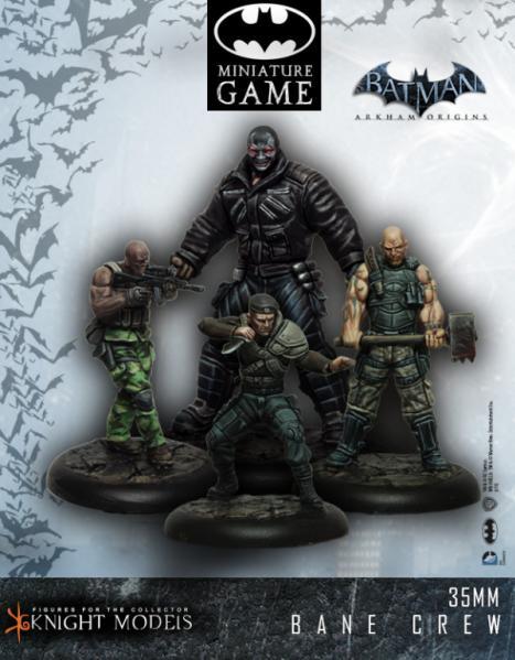 Batman Miniature Game: Bane Crew